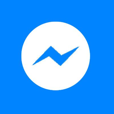 Facebook Messenger Clipart.