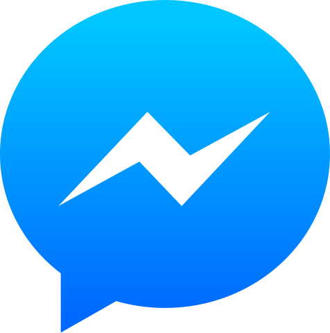 Facebook Messenger PNG Logo Pictures, Facebook Customer Chat.