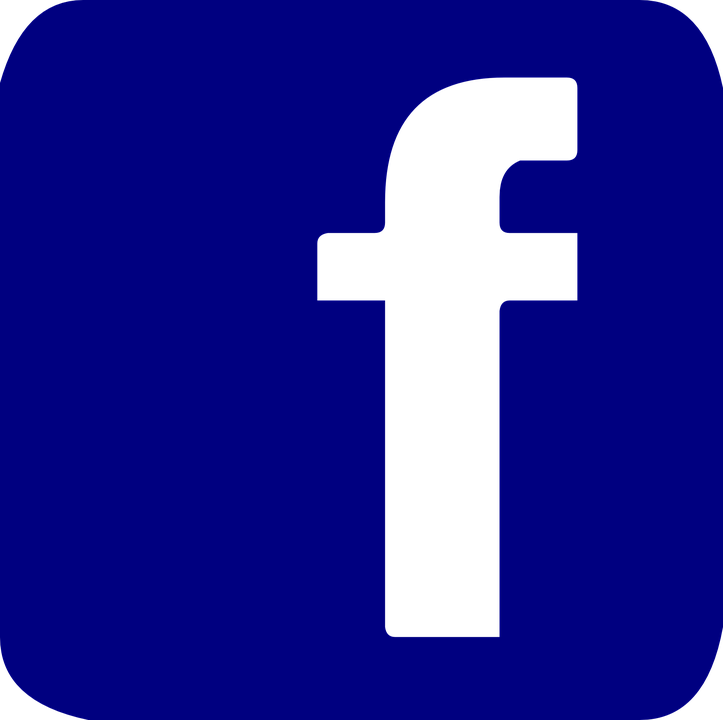 Facebook Button Pin.