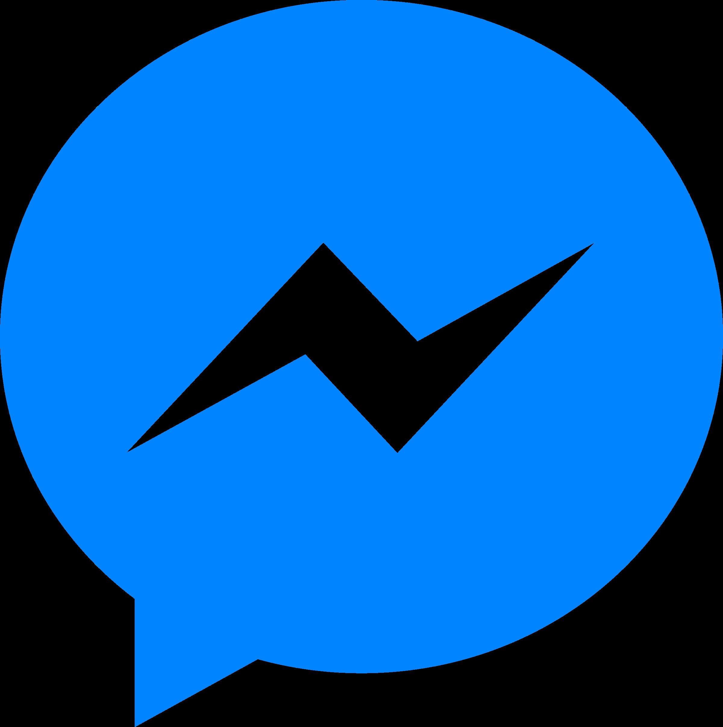 Facebook Messenger Logo PNG Transparent & SVG Vector.