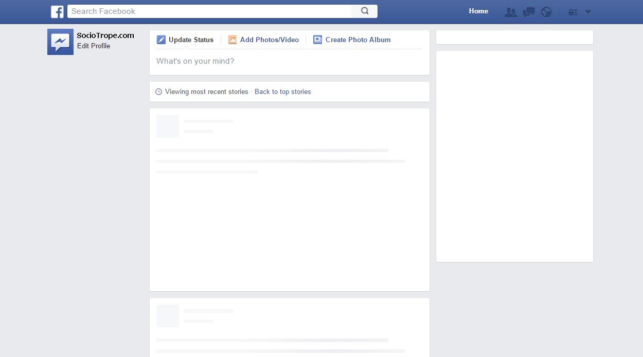 Facebook Post Template.