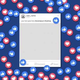 Facebook Post Vectors, Photos and PSD files.