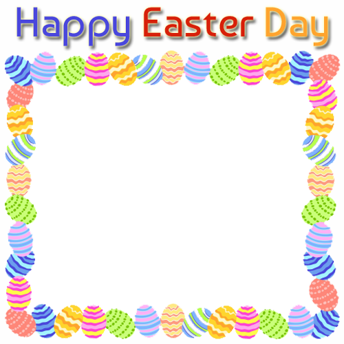 Easter Spring Profile Picture Frame for Facebook Photo Frame.