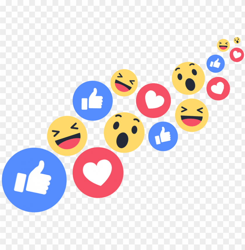 facebook live reactions png banner freeuse download.