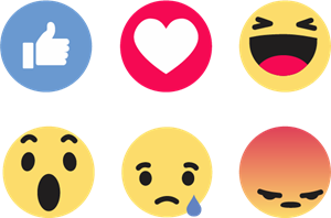 Facebook Like Reactions Logo Vector (.SVG) Free Download.
