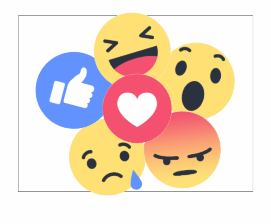 Facebook Reactions Png, Transparent Png Download For Free #1160659.