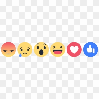 Facebook Reactions PNG Images, Free Transparent Image Download.