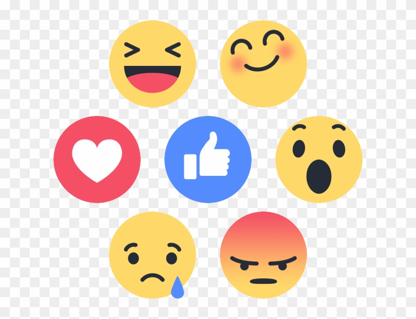 Jpg Royalty Free Facebook Reaction Png For Free Download.