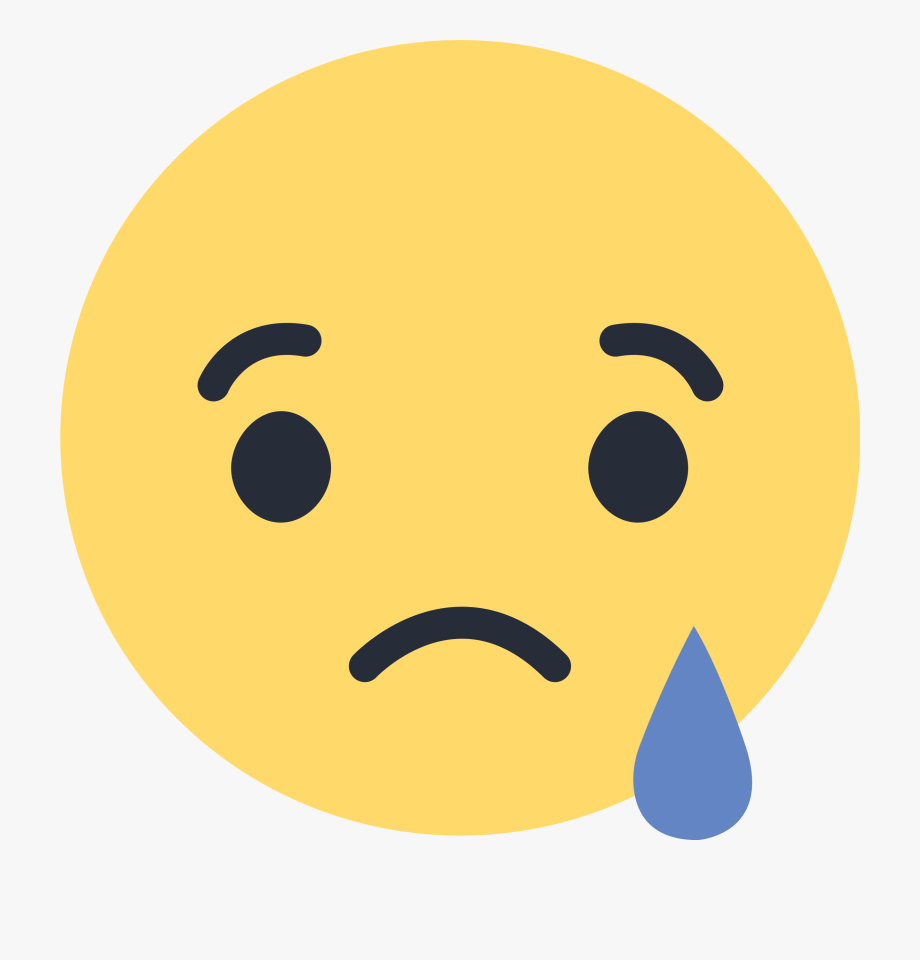 Facebook Sad Emoji Png #293998.
