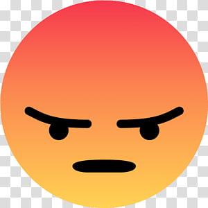Angry emoji, Smiley Emoji Facebook Sticker Emoticon, smiley.