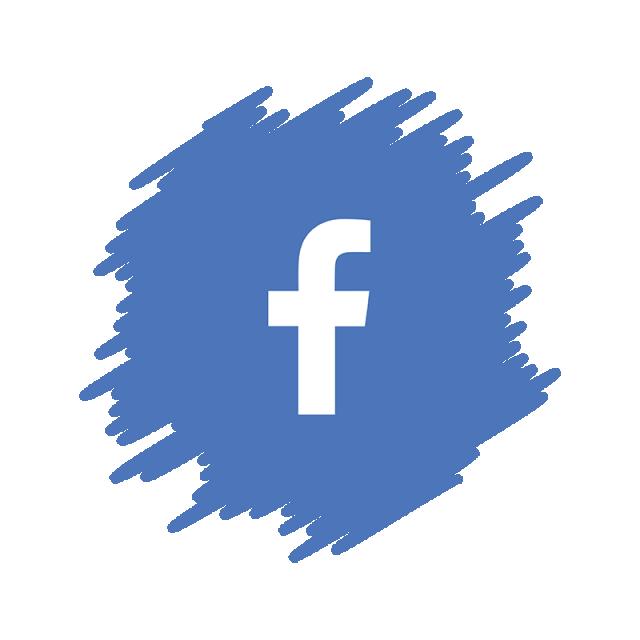 Download Free png Facebook Social Media Icon, Watercolor Facebook.