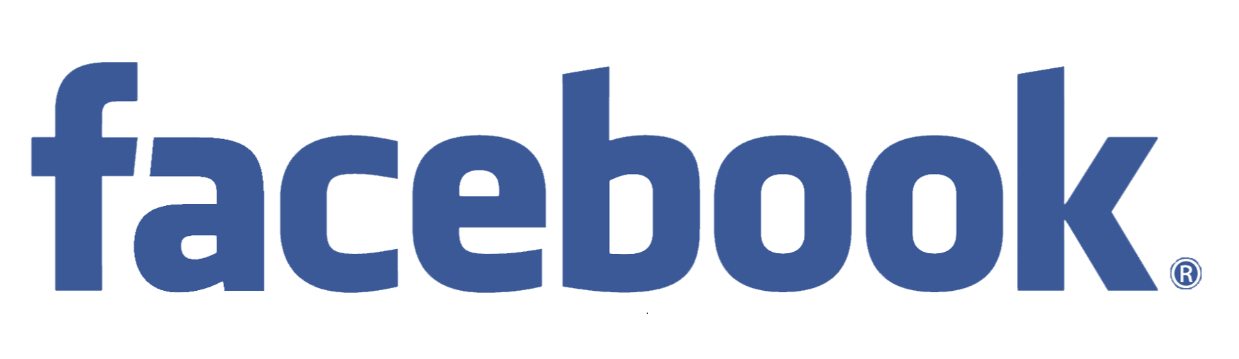 Facebook text logo transparent #38355.