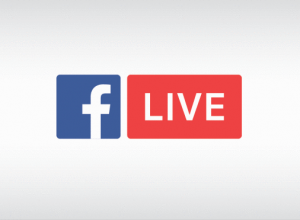 How to easily add your logo on Facebook Live from mobile.