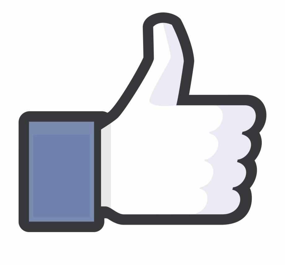 Thumbs Up Facebook Logo Png Transparent.