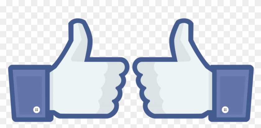 Facebook Thumbs Up Clipart Great Free Clipart Silhouette.