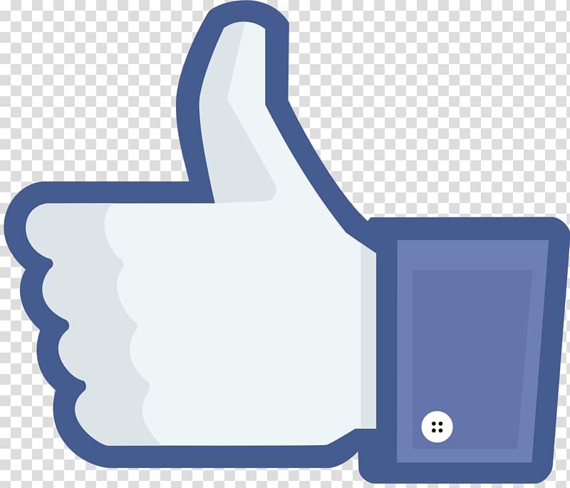 Like thumbs up illustration, Facebook Social media Like.