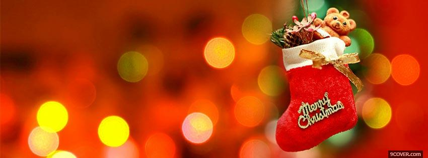 Christmas clipart facebook cover.