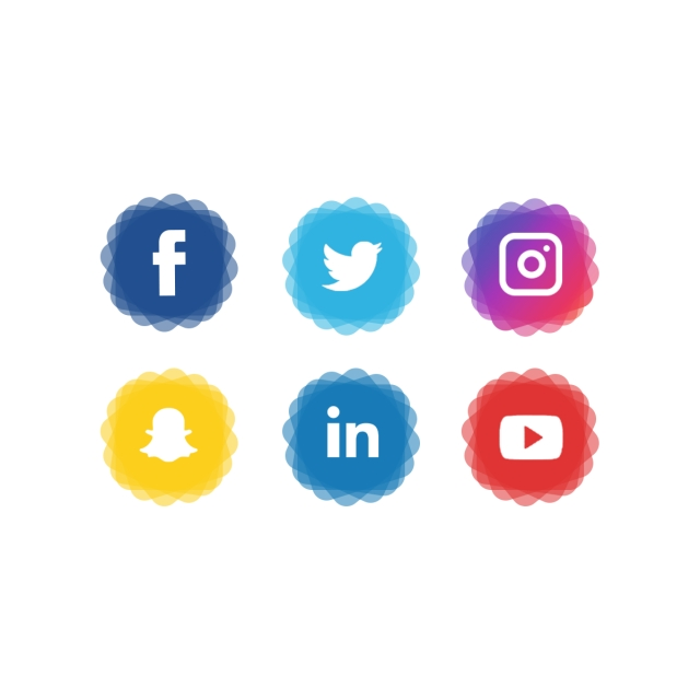 Facebook And Twitter Icons, Png, Facebook, Facebook Icon PNG and PSD.