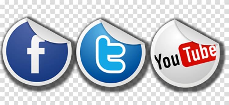 Facebook, Twitter, and Youtube logo, YouTube Facebook Social.