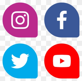 Download Bottons Facebook Instagram Twitter Youtube.
