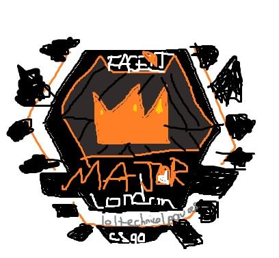 I\'m an aspiring artist and I redid the faceit logo.