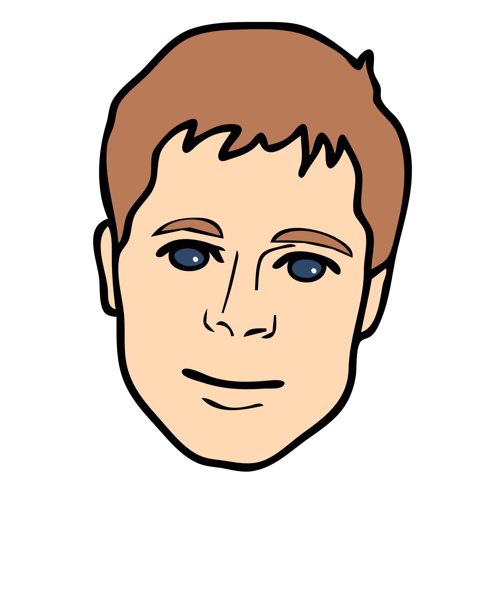 Boy Face Clipart Clip art of Face Clipart #7049 — Clipartwork.