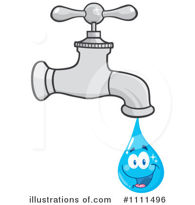 Water facet clipart.