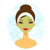 Free spa facial clip art.
