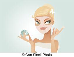 Facial care Vector Clipart Royalty Free. 5,274 Facial care clip.