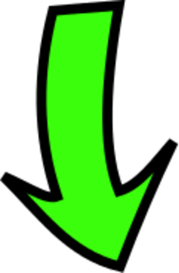 Arrow Pointing Down Clipart.