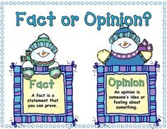 54 Best School: Fact and Opinion images in 2013.