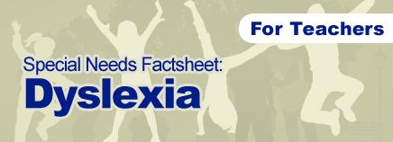 Special Needs Factsheet.