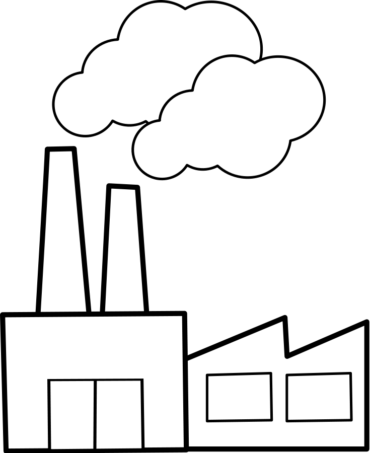 Factories Clipart Images.