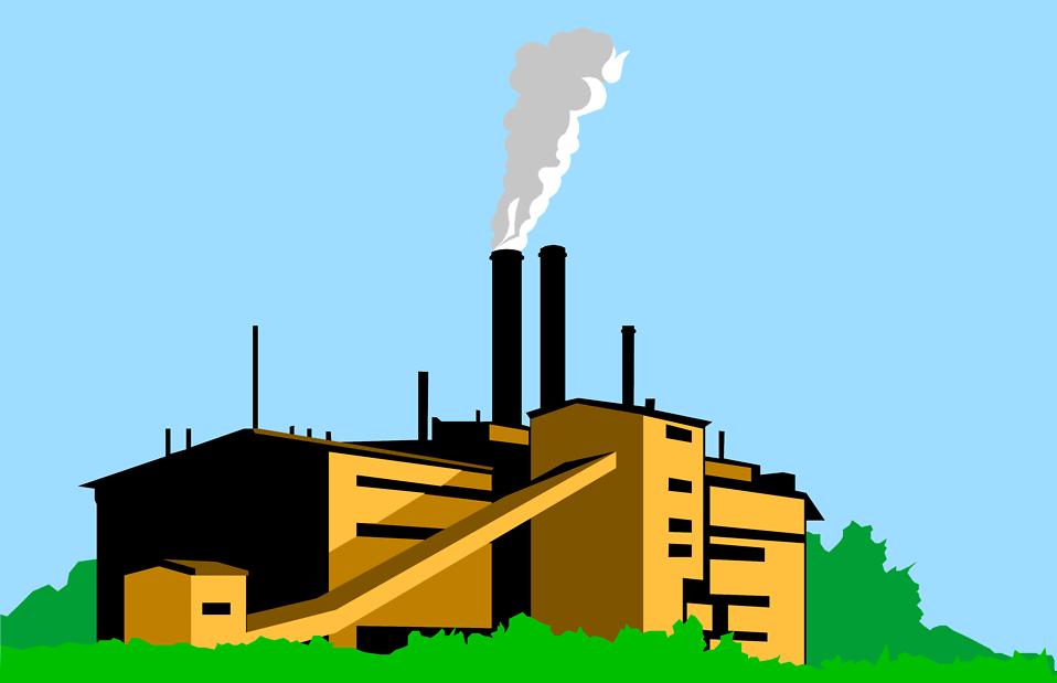 Factories Clipart.
