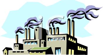 Factory Plant Clipart.