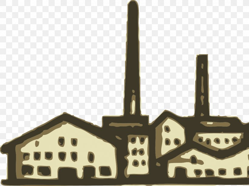 Clip Art Industrial Revolution Factory Industry, PNG.