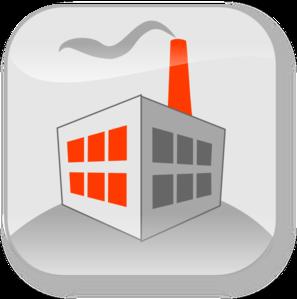 Factory building clipart #15