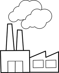 Factory clipart #9