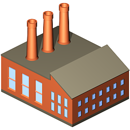 Factory clipart #5