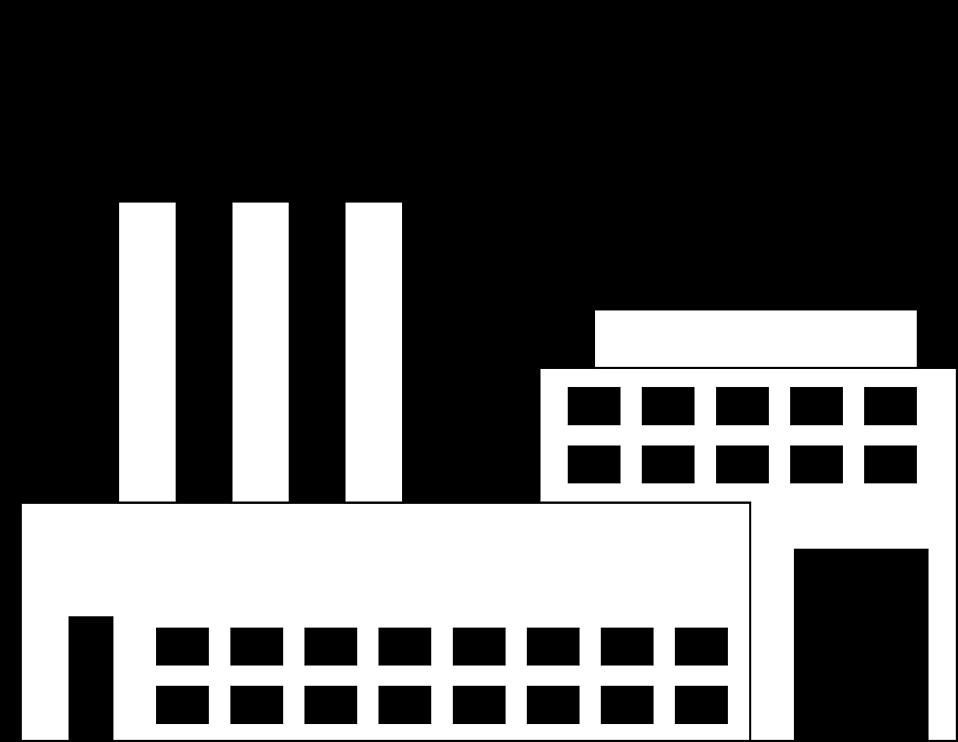 Coal Factory Clipart.
