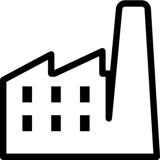 Manufacturing Icon clipart.