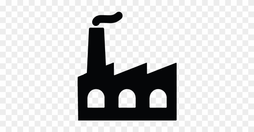 Factory Industry Production Icon.