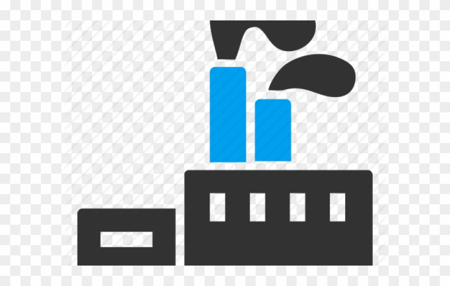 Industrial Clipart Factory Symbol.