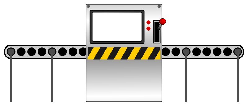 Free Clipart: Factory machine.