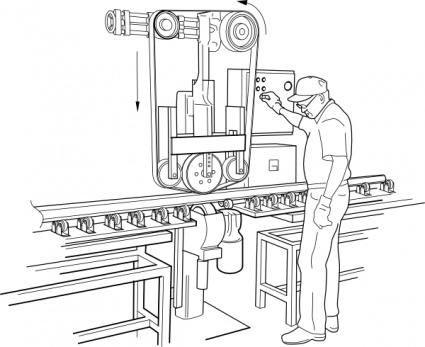 Rail Polishing Machine clip art clip arts, free clipart.