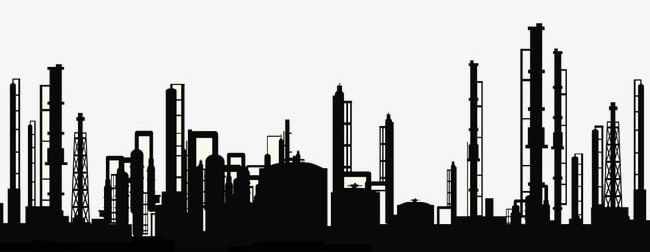 Factory Pipe Silhouette PNG, Clipart, Factory, Factory Clipart.
