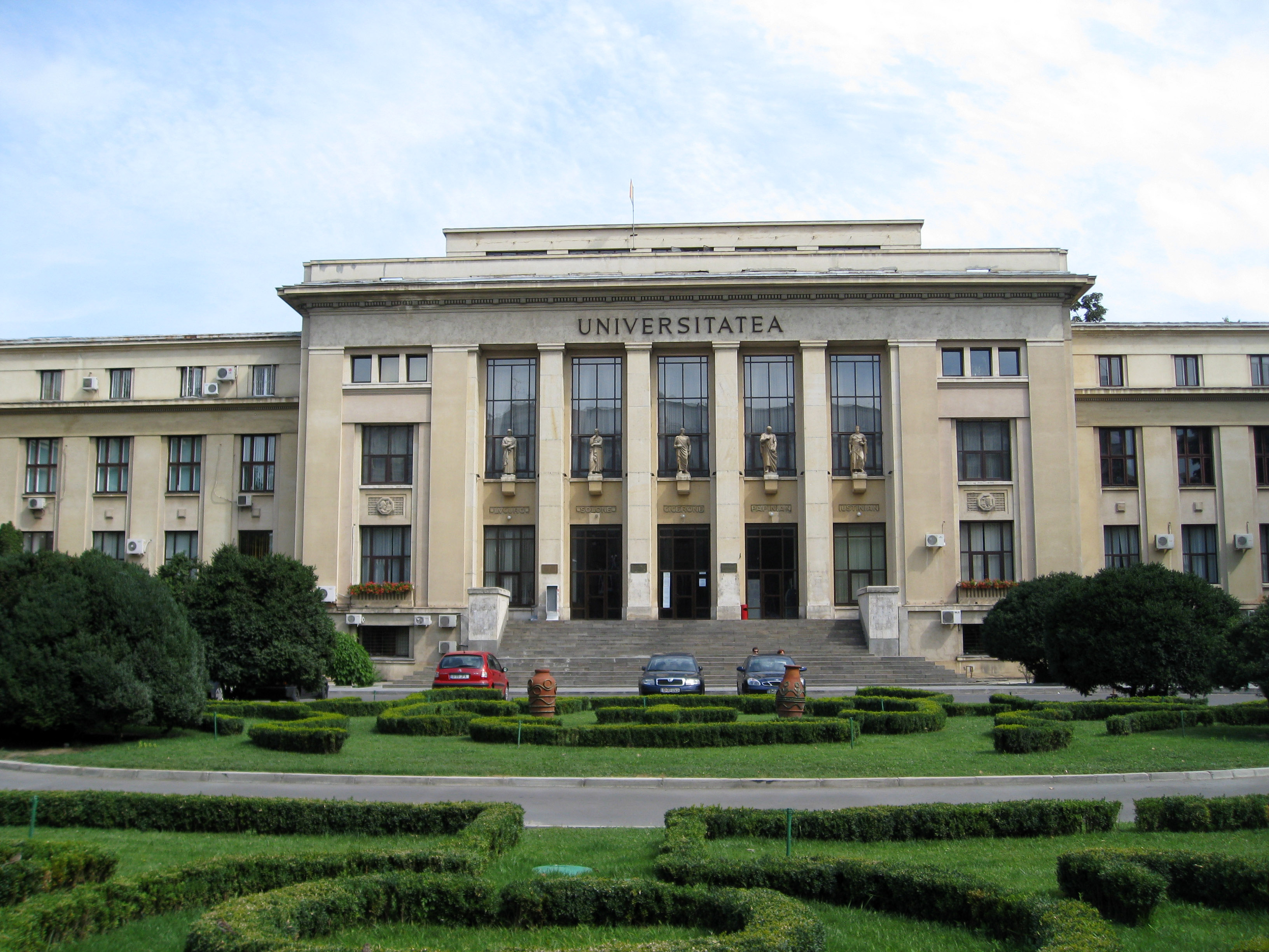 Law Faculty of the University of Bucharest, Romania.
