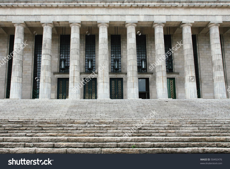 Facultad De Derecho, Buenos Aires, Argentina Stock Photo 50492476.