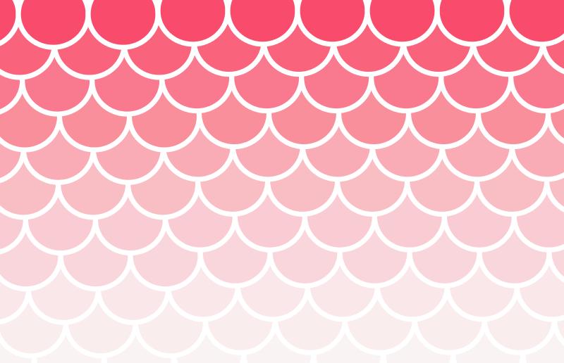 Free Clipart: Scallop Pattern Fade.