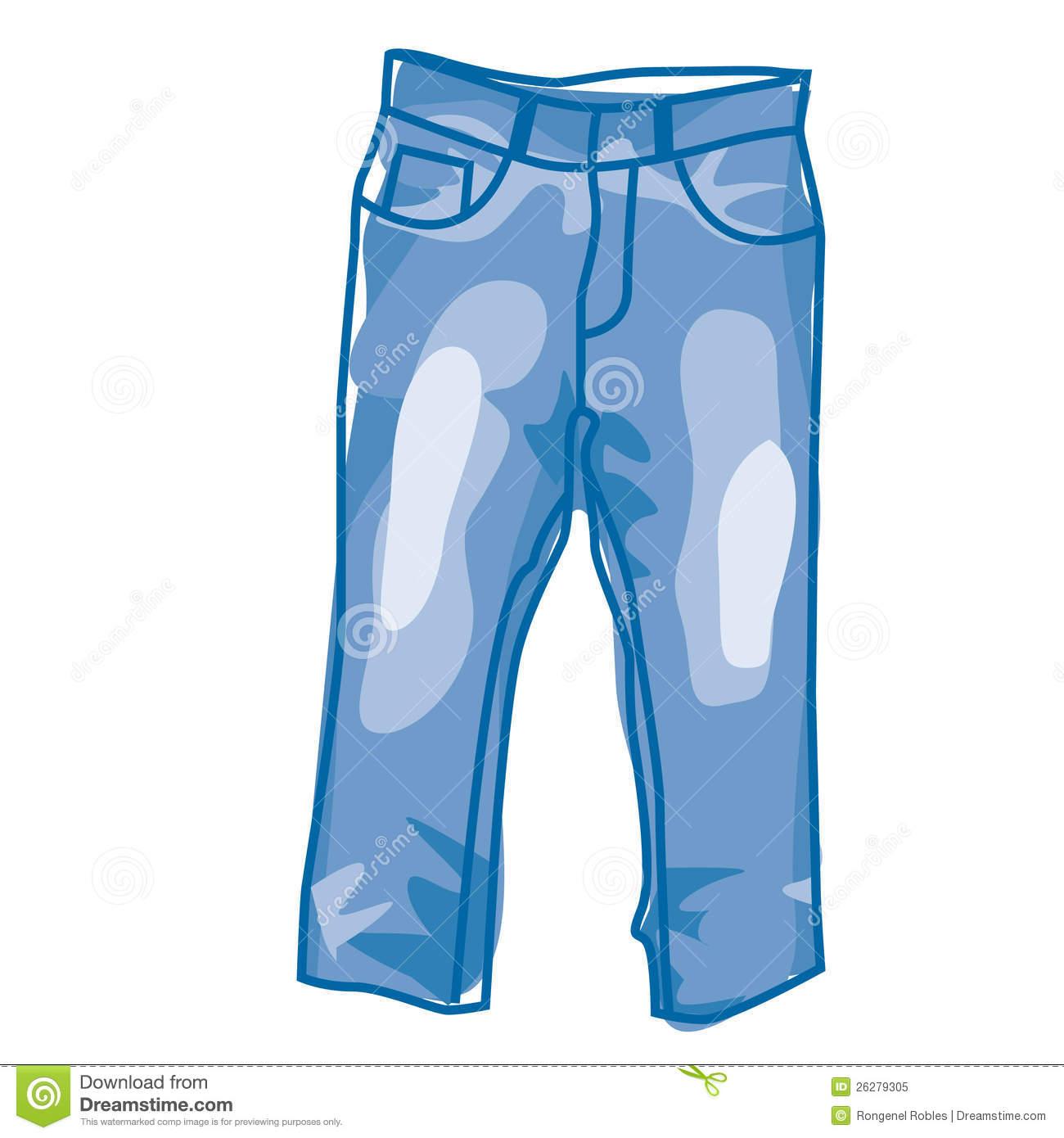 No Jeans Clipart.